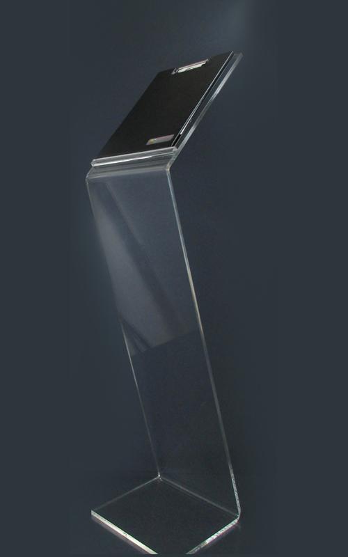 Leggio Da Terra Plexiglass.Leggio In Plexiglass Trasparente Mm10